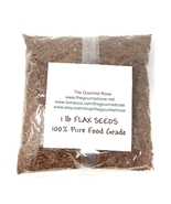 1 lb WHOLE BROWN FLAX SEED Omega-3 Linseed Lin Seed Flaxseed - $9.95