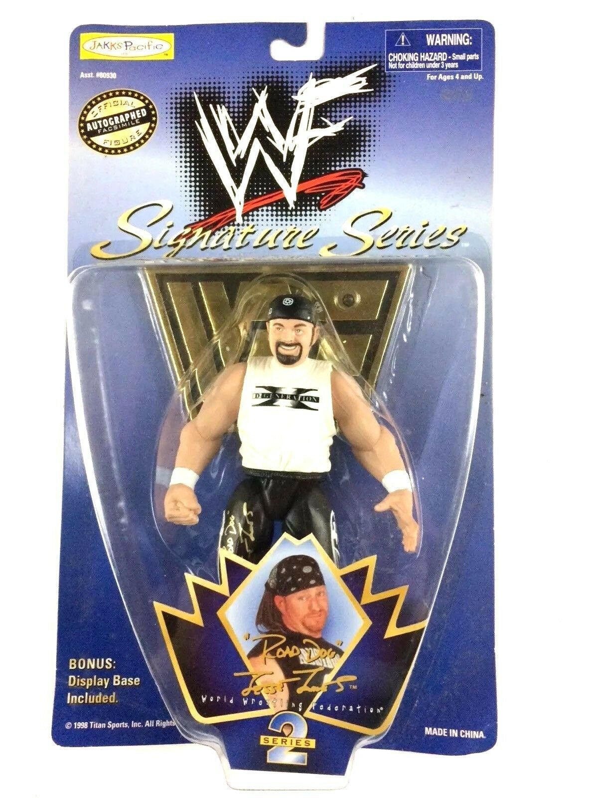 Road Dog Jesse James WWF Signature Series 2 Action Figure WWE Sealed JAKKS