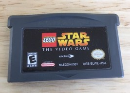LEGO Star Wars: The Video Game (Nintendo Game Boy Advance, 2005) Tested - $5.89