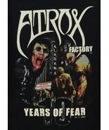Atrox Factory Hauned House Birmingham Alabama 10 Ten Year Anniversary T-... - $13.99