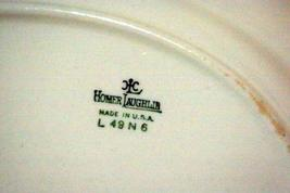 """Homer Laughlin L49N6 Pink Yellow Floral Oval Platter 11 1/2"""" image 4"""