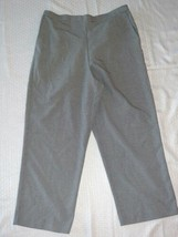 Women's Alfred Dunner Dress Pants ~ Sz 16 ~ Black & White ~ Elastic Waist - $14.84