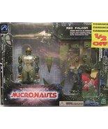 MICRONAUTS RED FALCON (Green Version) Deluxe boxed edition - $40.00