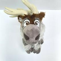 "Disney Store Frozen Sven Plush Grey Stuffed Animal Winter Reindeer Antlers 17"" - $19.79"