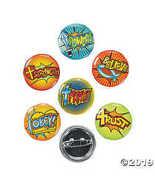 Fun Express Fantastic Faith Mini Buttons Novelty (4 Dozen) - $7.74