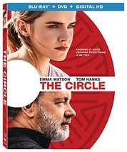 The Circle [Blu-ray/DVD, 2017] New