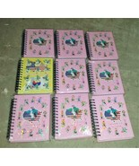 9qty TAERYONG V & HIS FRIENDS Journal Dairy Notebook NOS Dragon Tae Kwon Do - $39.99