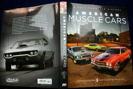 AMERICAN MUSCLE CARS: A FULL THROTTLE HISTORY Darwin Holmstrom 2016 HCDJ... - $31.46