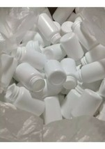 100count - 120c White Wide Mouth Packer Bottles w/ 33/400 PP Liner Lids ... - $34.75