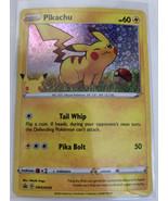 Pikachu Black Star Promo SWSH039 Holo Pokémon Card SWIRL NM/MINT - $12.19