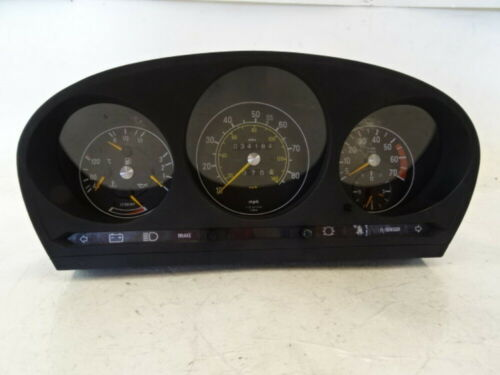 Primary image for 82 Mercedes R107 380SL instrument cluster, speedometer