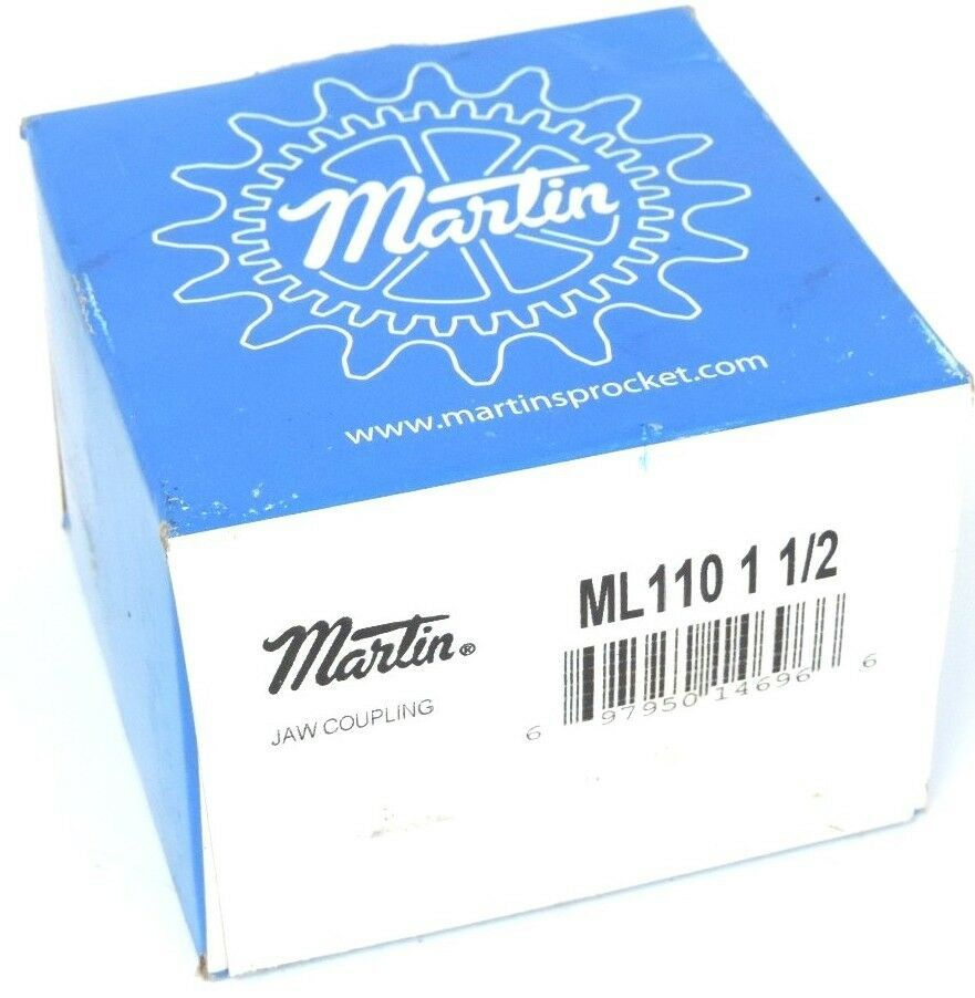 FACTORY SEALED MARTIN ML110 1 1/2 JAW COUPLING ML110112