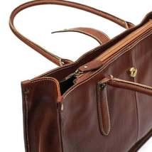 On Sale, Leather Tote Bag for Women, Shoulder Bag, Work & Student Bag, Shopper B image 4