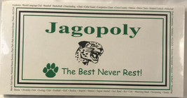 New Jagopoly Board Game - The Best Never Rest - Custom Board Game - $17.09
