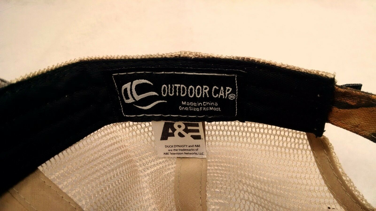 Duck Dynasty Ball Cap Trucker Hat Buckle Back RealTree MAX-4 Camo Go Beard NEW