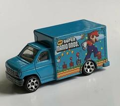 Vintage  Matchbox  MARIO BROS. 1998 Truck Blue Mattel - $12.86