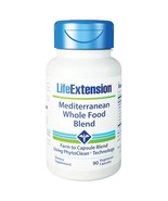 Mediterranean Whole Food Blend, 90 Caps by Life Extension - $33.00