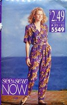 See & Sew 5549 Sewing Pattern Misses Shirt & Pants Size 6 - 22 - $8.33