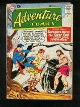 ADVENTURE COMICS #257 1959-SUPERBOY-GREEN ARROW-HERCULES-very good minus... - $56.75