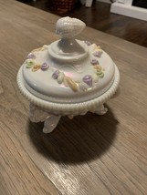 Westmoreland Dolphin & Shell Argonaut Mother of Pearl Candy Dish - $18.81
