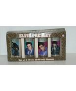 Vandor 47302 Set 4 Elvis Presley Glasses 10 Ounces Different Pictures - $39.99