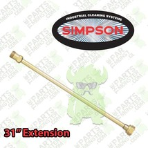 Simpson 31 Inch Spray Wand Gun Jet for Pressure Washers NEW / Extension ... - $37.39