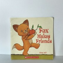 Adam Relf Fox Makes Friends Paperback Picture Book 2006 Scholastic - £9.06 GBP