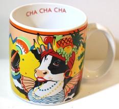 In 1987 Vintage Cowmen Mooranda Messicano che Danza Mucca Cha Cha Caffè ... - $21.86