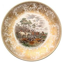 Spode Hunting Scenes The Death Produced from Engravings After J F Herring LE of  - $108.29