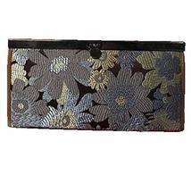 Stylish Women's Long Silk Card Holder Purse Elegant Wallet Gift