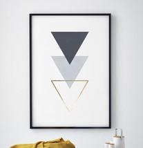 ANDVIKA 3 Triangles Print - $12.65+