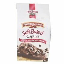 Pepperidge Farm Soft Baked Cookies, Captiva Dark Chocolate Brownie, 8.6 Ounce .. - $63.10