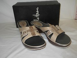 Cole Haan New Womens Air Maddy Natural Snake Slide Sandals 11 M Shoes NWB - $78.21