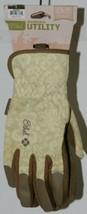Mechanix Wear 911753 Womens Ethel Large Garden Utility Gloves Yellow Tan 1 Pair image 2