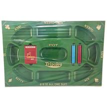 Vintage Cadaco Tripoley Special Edition Board Game 1968 No. 300 NEW SEALED - $63.10