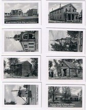 """Early Photographs USA Wright Bros Cycle Shop Lincoln Court House 1 3/4"""" ... - $5.35"""