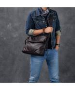 Sale, Full Grain Leather Men Shoulder Bag, Stylish Men Messenger Bag, La... - $165.00