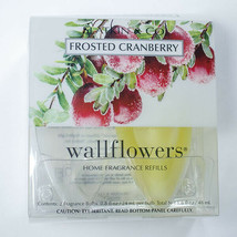 Bath & Body Works Wallflowers Fragrance 1 Refill Bulb Frosted Cranberry Single - $9.89
