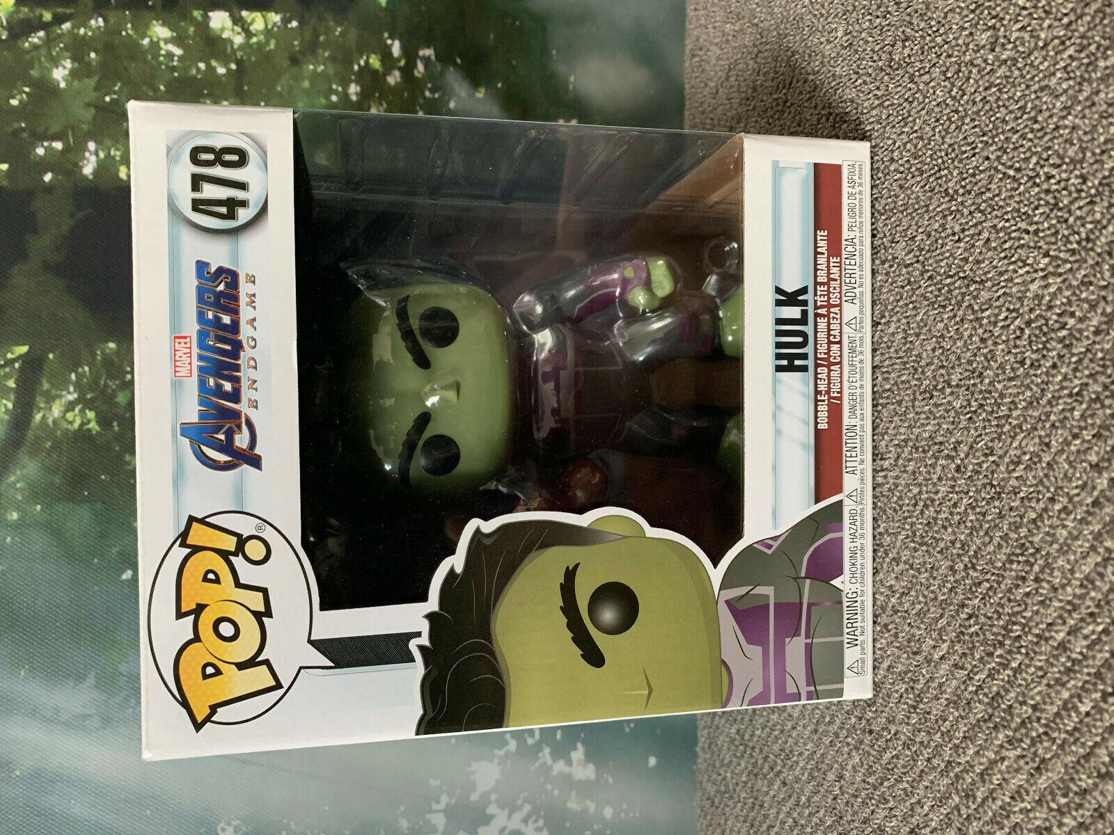"""Marvel-Avengers Issue #478 Hulk avec Gauntlet 6/"""" Super Sized Funko Pop"""