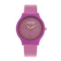 Crayo Glitter Strap Watch - Hot Pink - £126.25 GBP