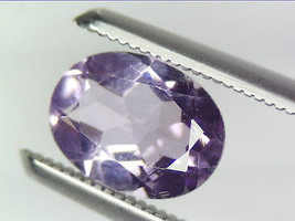 1.15 CT NATURAL AMETHYST LOOSE GEMSTONES PURPLE OVAL FACETED CUT 5.99 X ... - $17.25
