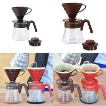 Coffee Starter Kit Pour Over Spoon Paper Filter Dripper Server Plastic B... - £17.29 GBP