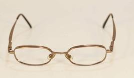 Fossil T-TOP Brown Metal Eyeglass Frames Designer Style Rx Eyewear - $9.12