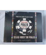 Texas Hold 'Em Poker Plug & Play Multi-Player TV Game Party Casino World... - $20.11