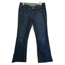 Gap Womens 4 Jeans Curvy Stretch Flare Low Rise Inseam 28.5 W21 - $10.50