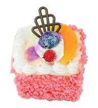 Set of 2 Artificial Cake Lifelike Cake Model Fake Cake Decoration, Pink - $14.19