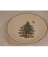 "Spode Christmas Tree Compote Mint GUC Gift Quality No Box 7"" w x 3"" H - $17.49"