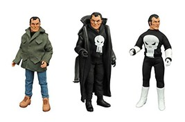 Diamond Select Toys Marvel Retro Cloth Punisher Action Figure Gift Set A... - $70.14