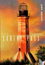 FDC POSTCARD-SABINE PASS LIGHTHOUSE-GULF COAST LIGHTHOUSES- ARTCRAFT CAC... - $2.94