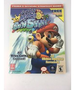 Super Mario Sunshine Nintendo Gamecube Prima Official Strategy Guide w P... - $24.99